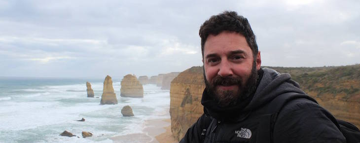 Cedric Marc on a tour of the Great Ocean Road