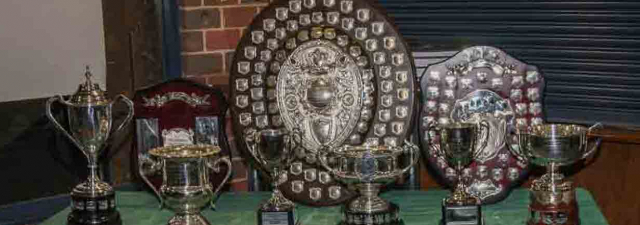 Dewar Shield and other trophies